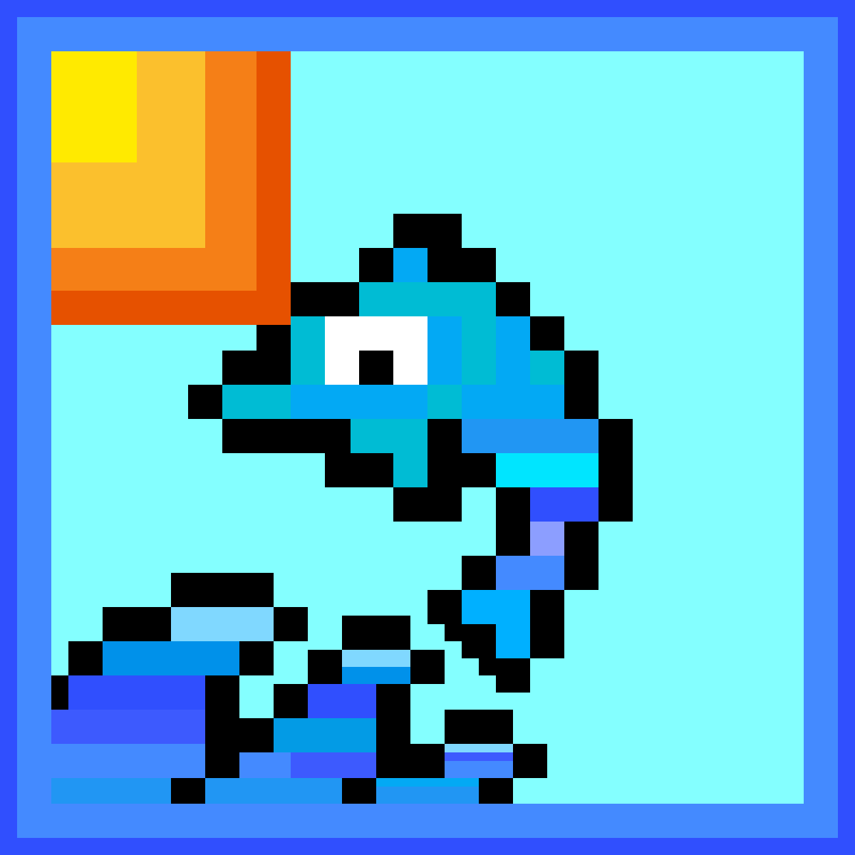 The Leaping Dolphin by Pixelartist9