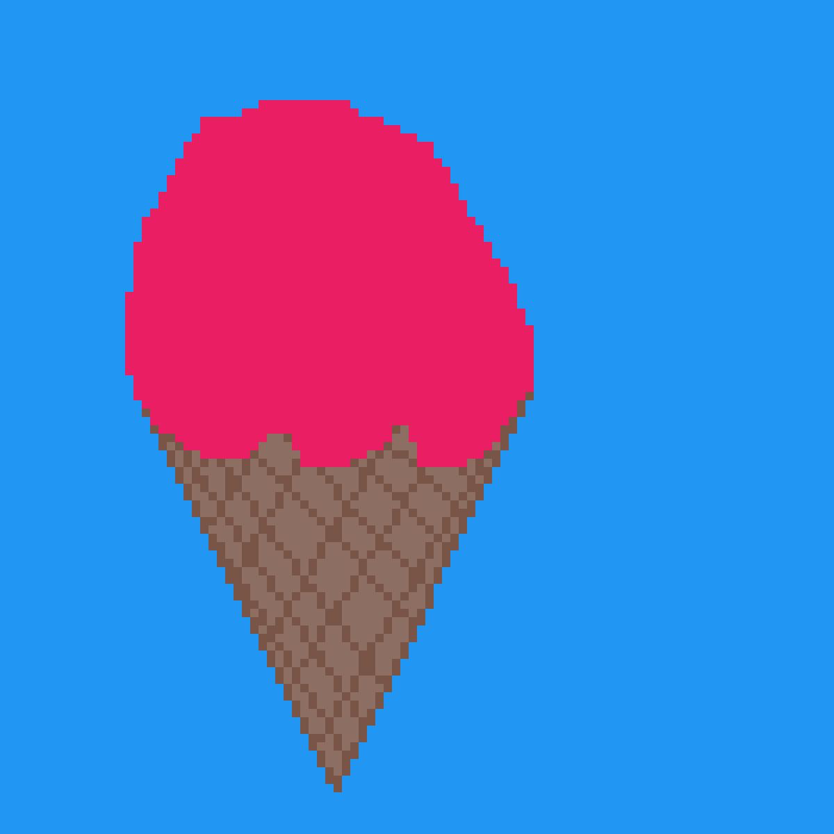 Strawberry Ice Cream by RedTheWolf