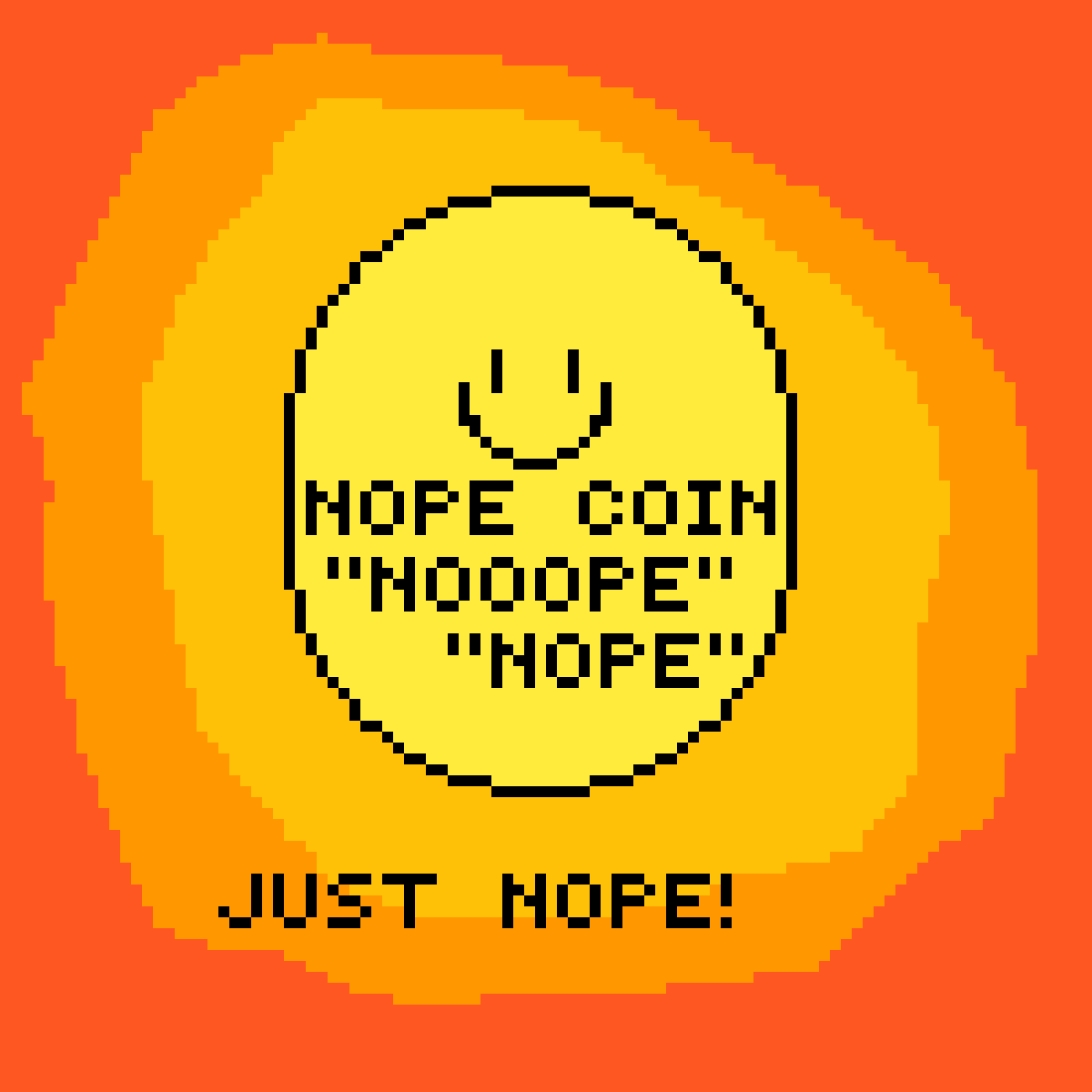 NOPE COIN :) by pros