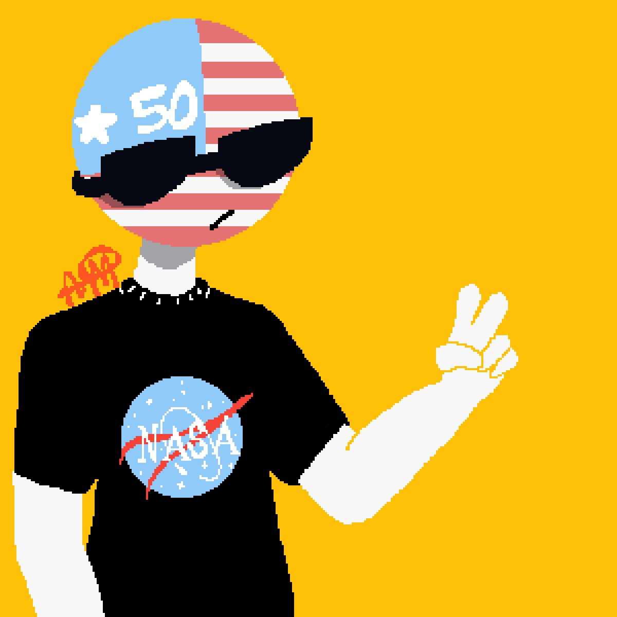 A-America,, by RottenBunnyBoy
