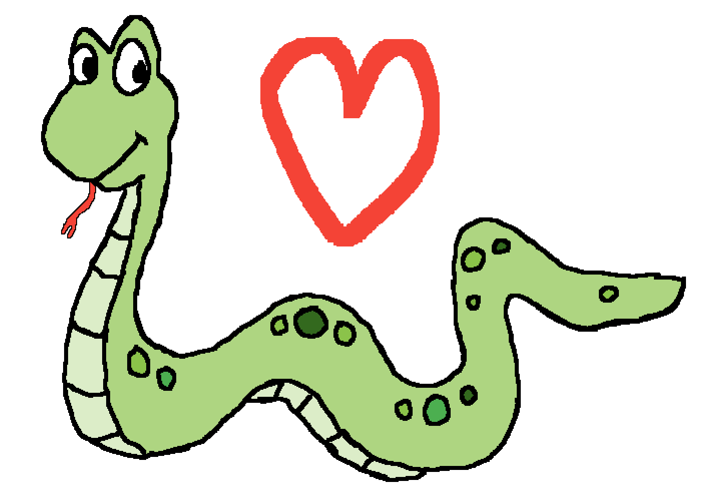 Snake is love, snake is life <3 by CassiePotato