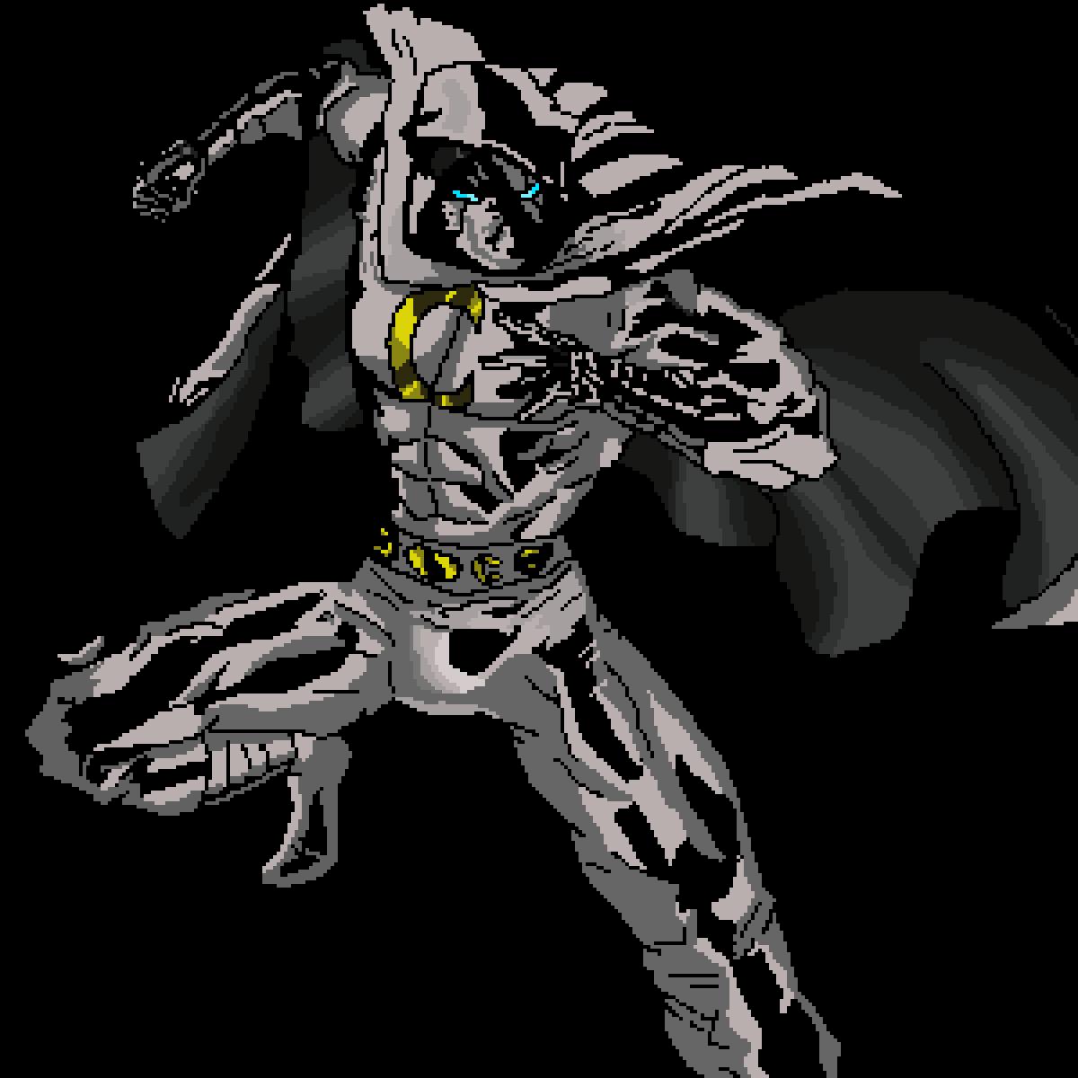 Pixilart Moon Knight By Blaze114
