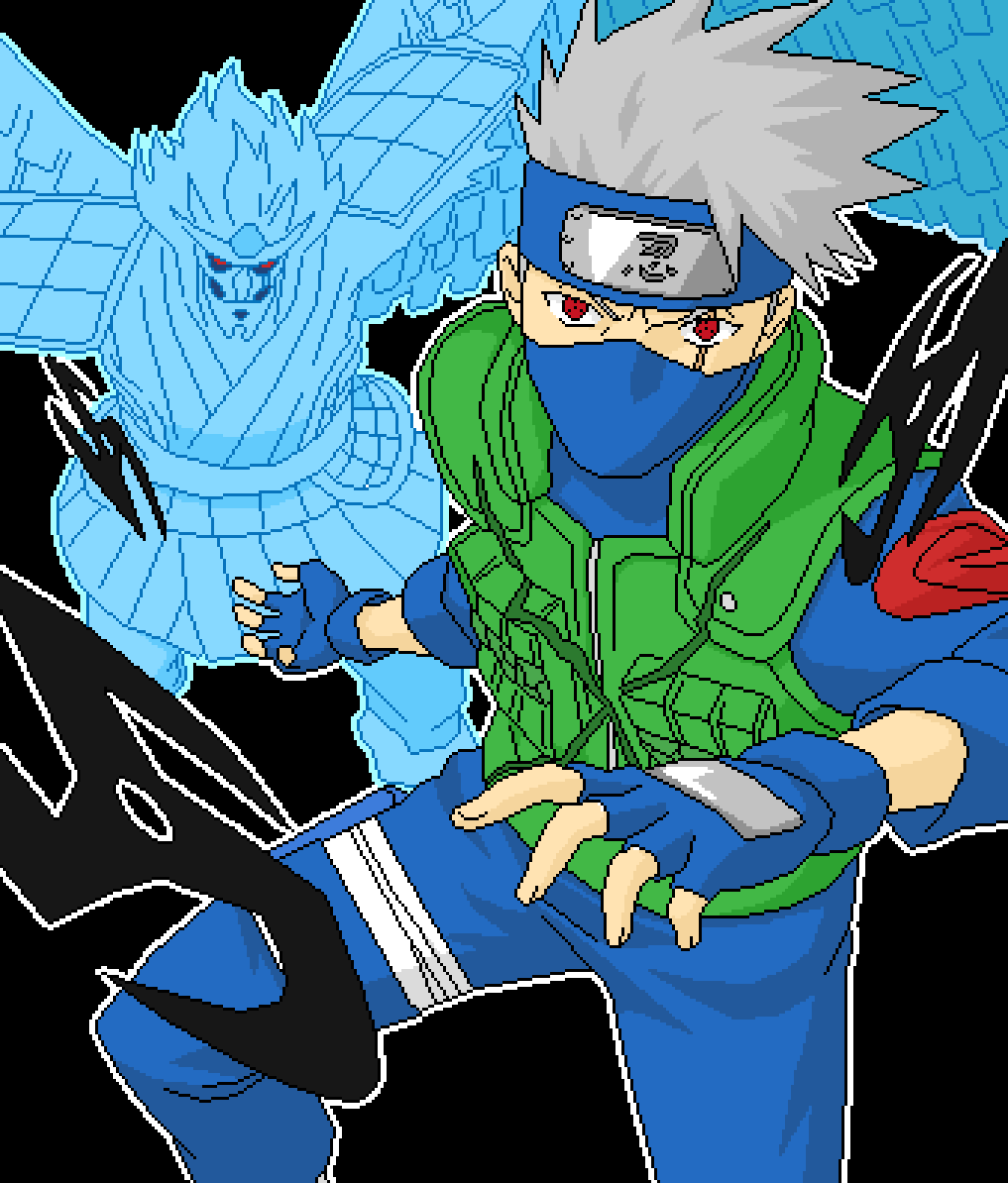 The Legendary Kakashi Of The Sharigan  by CosmicSpaceVape