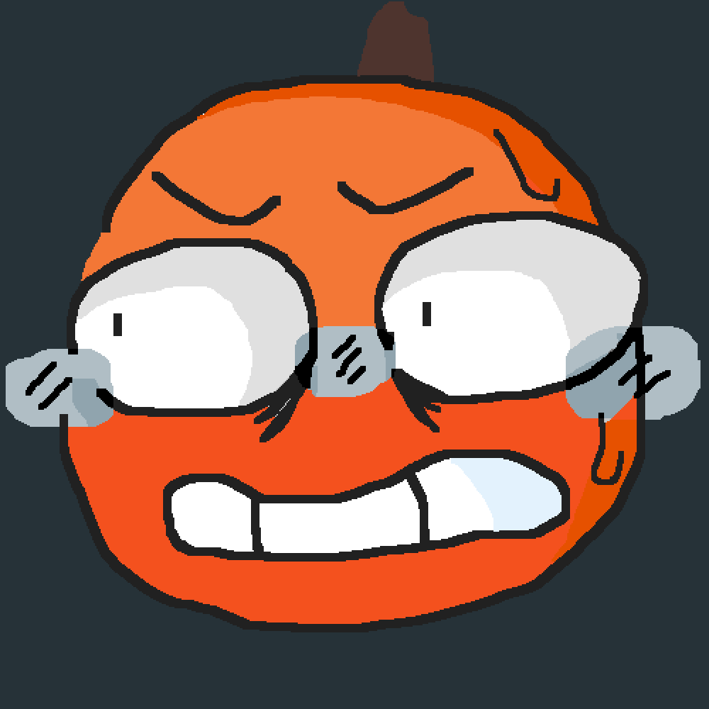 main-image-scared pumpkin  by Tlamarion