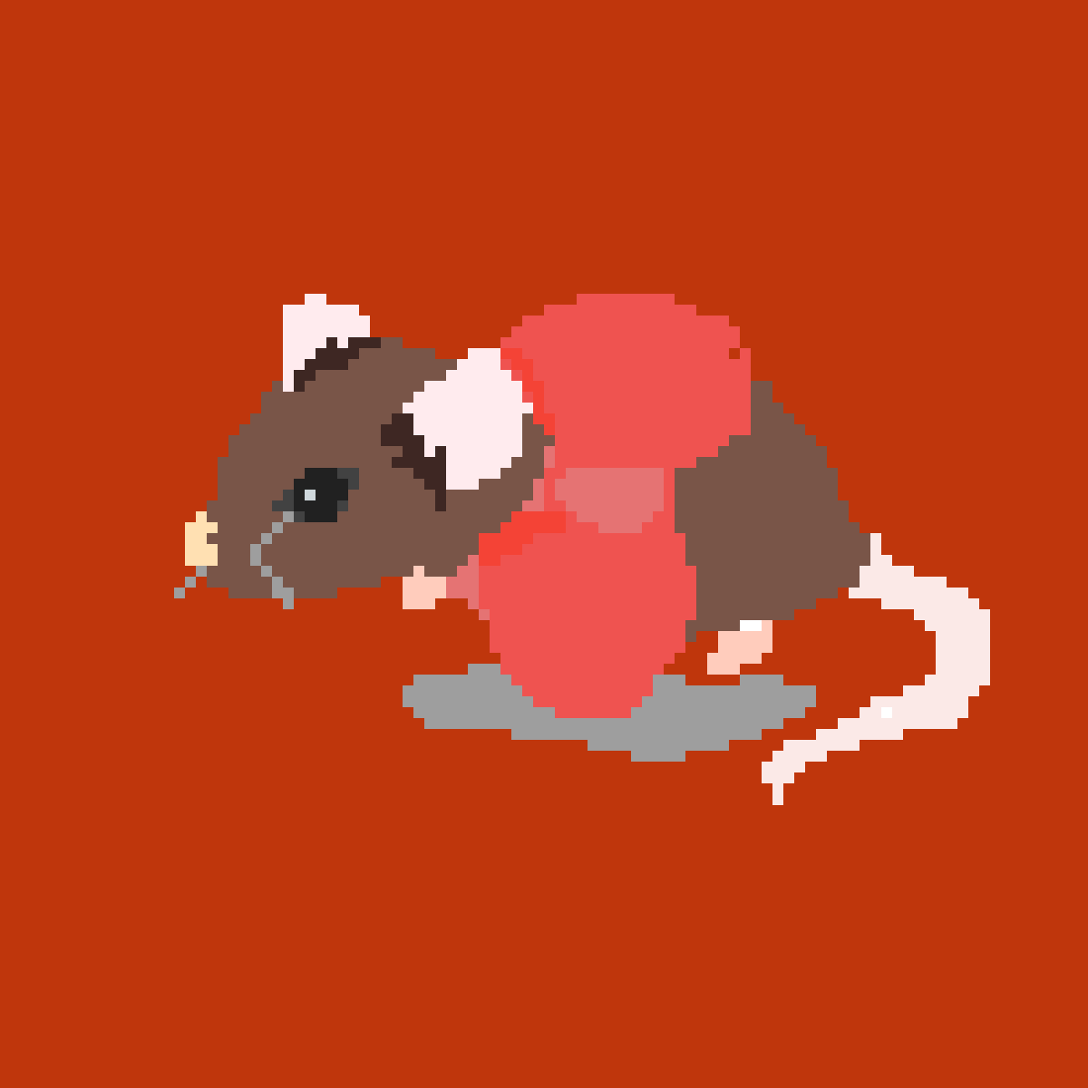cute little mouse by pandheart104