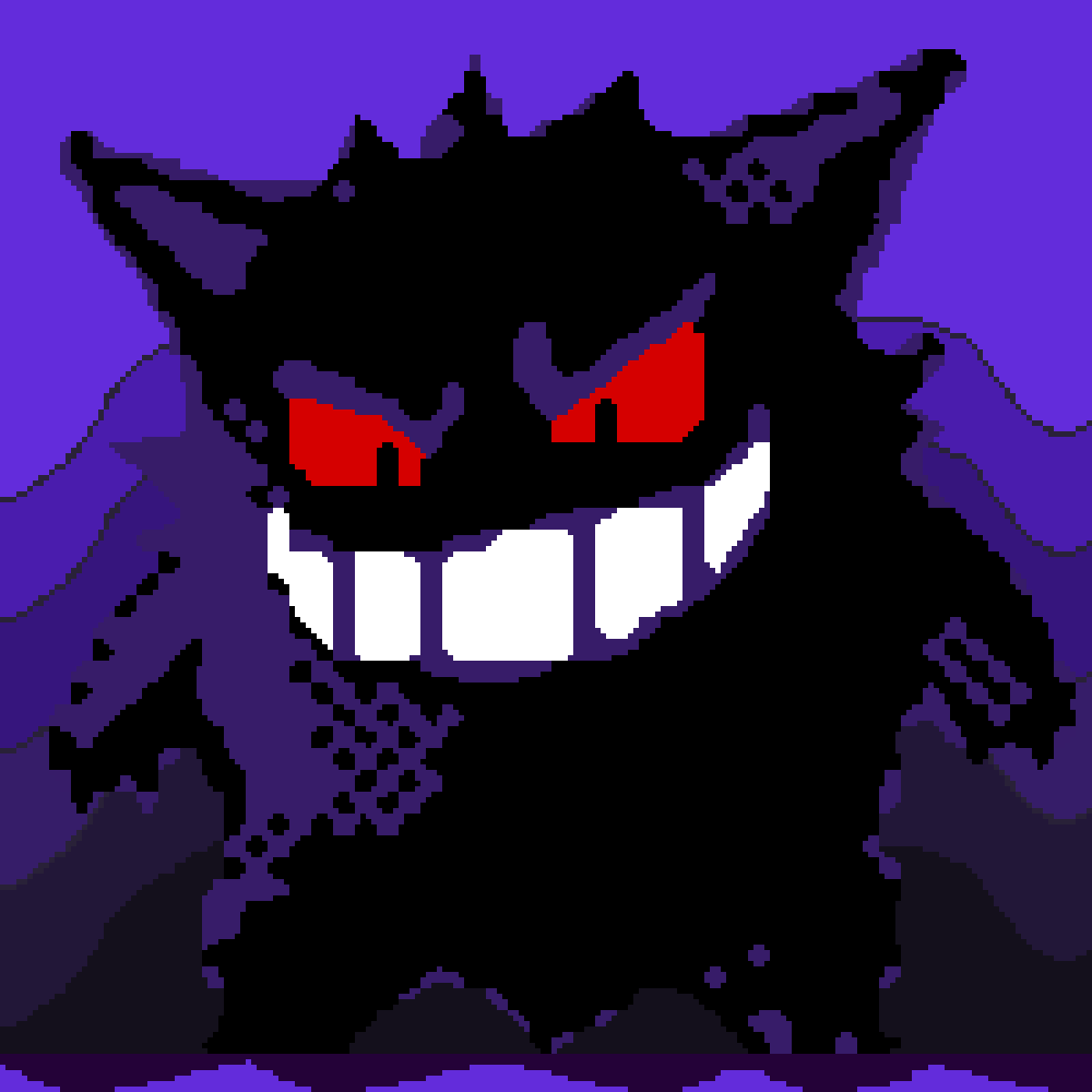 Gengar by Just-a-Yoshi