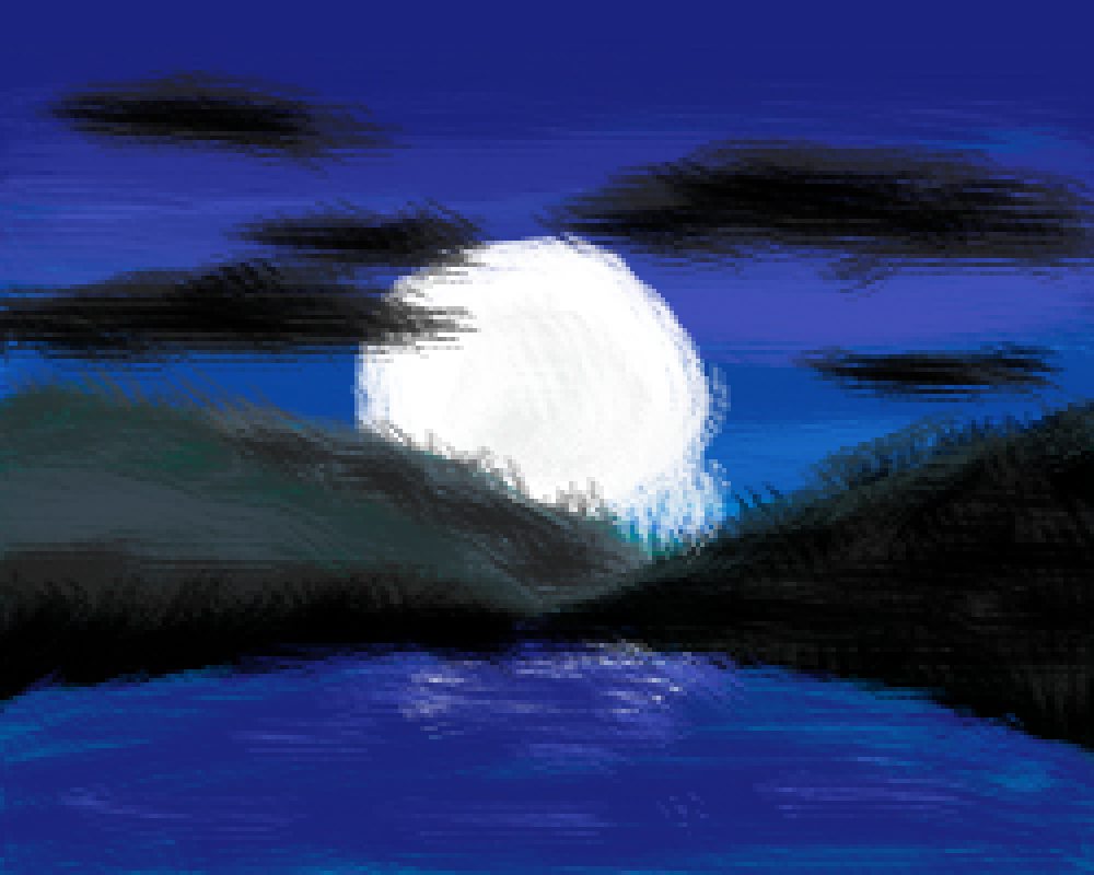 Nature's lake by Pixel-Logic