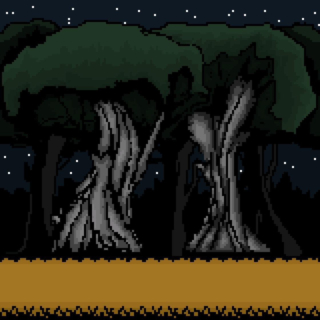 forest scene by anjaliashok01
