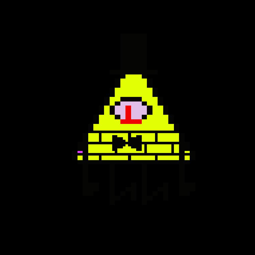 Editing Bill Cipher Free Online Pixel Art Drawing Tool Pixilart