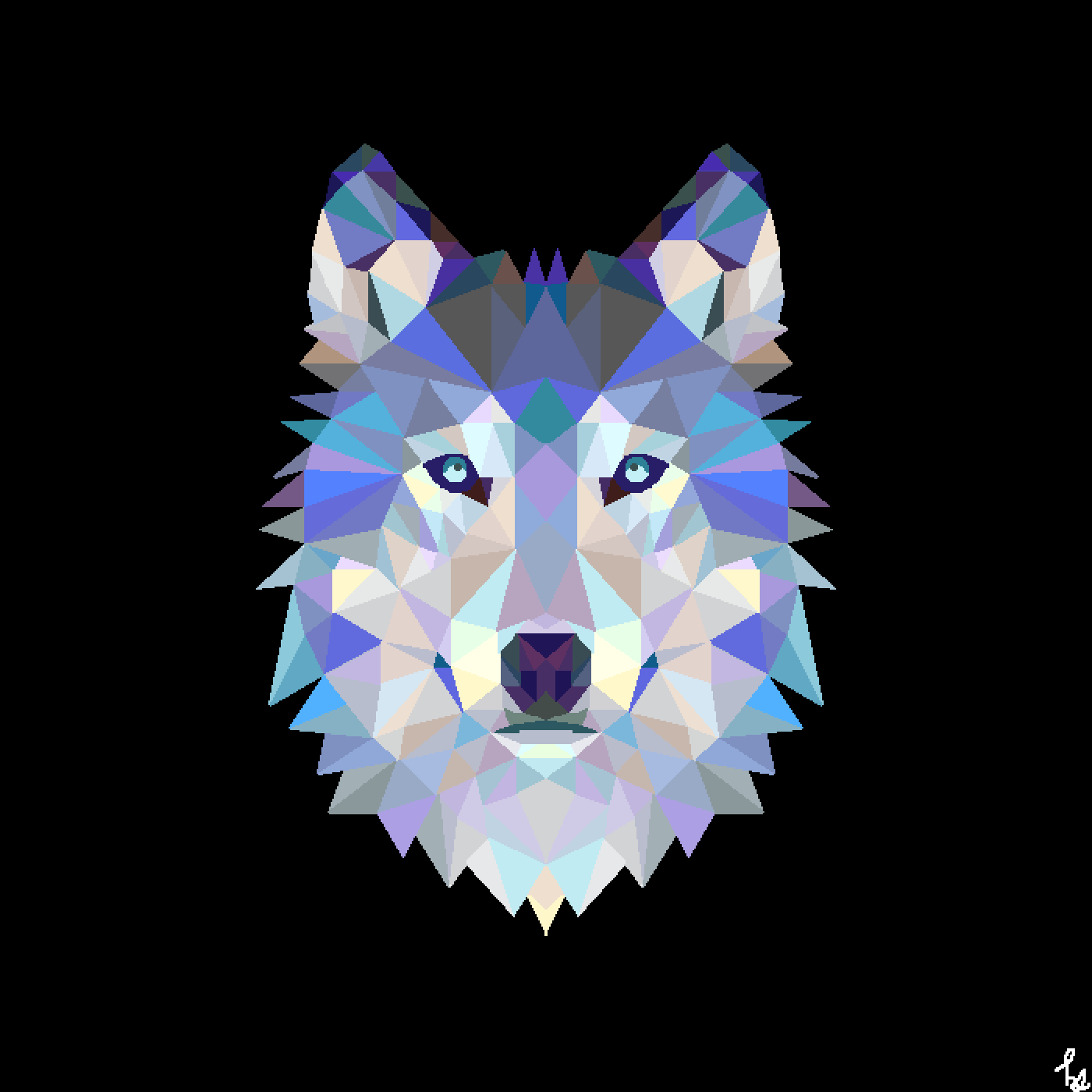 main-image-Geometric Animals: Wolf  by Horizon-Studios