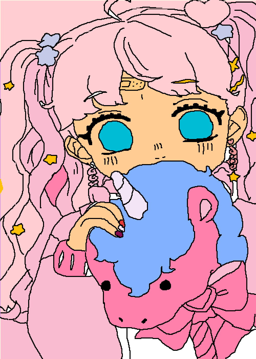 Cute girl by Dem0nxAngexl