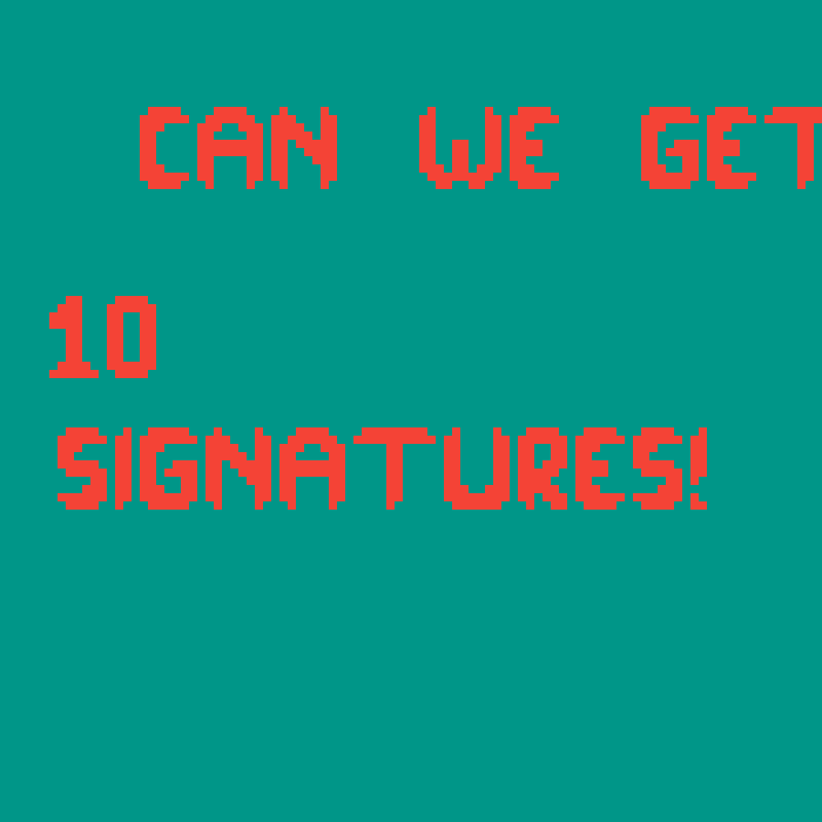 10 signatures by Laz3r4lif3