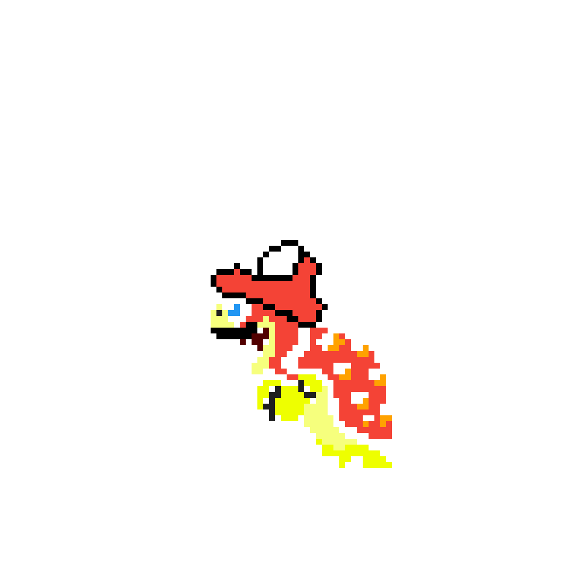 Bowser mario by PixelPixelArt