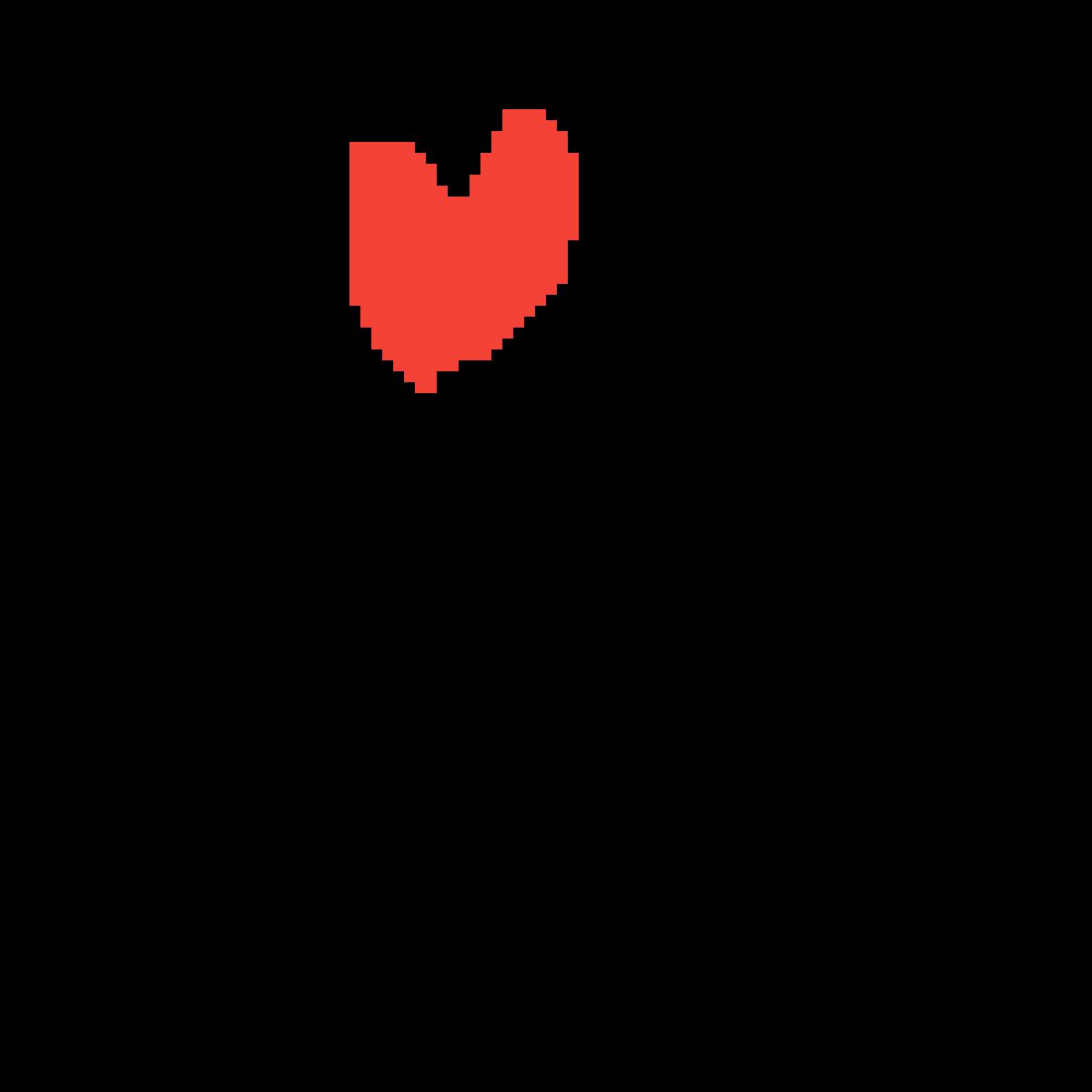 A Heart from UNDERTALE by AmesomezGamerz2