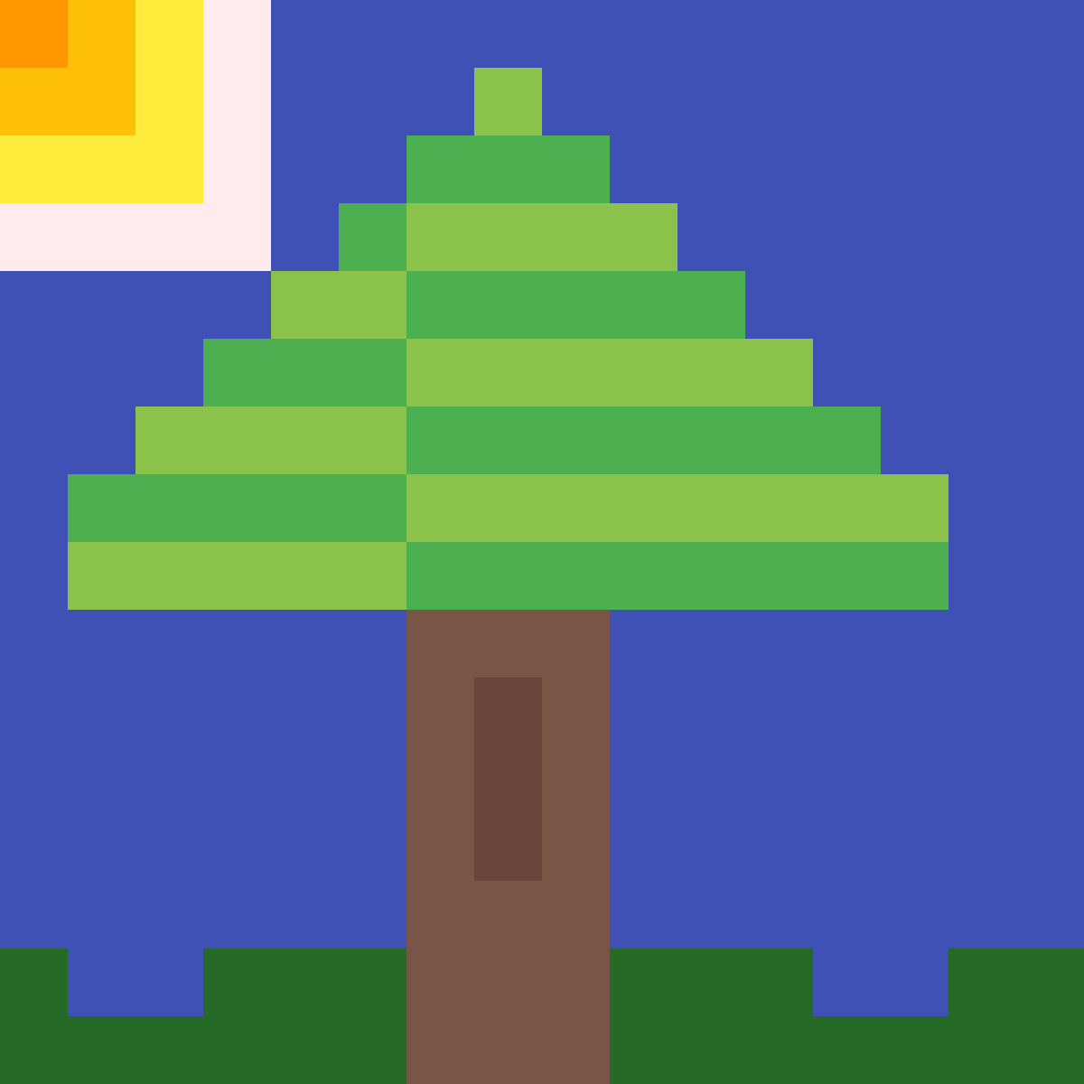 A Tiny Happy Tree :D by Muffin-Thief