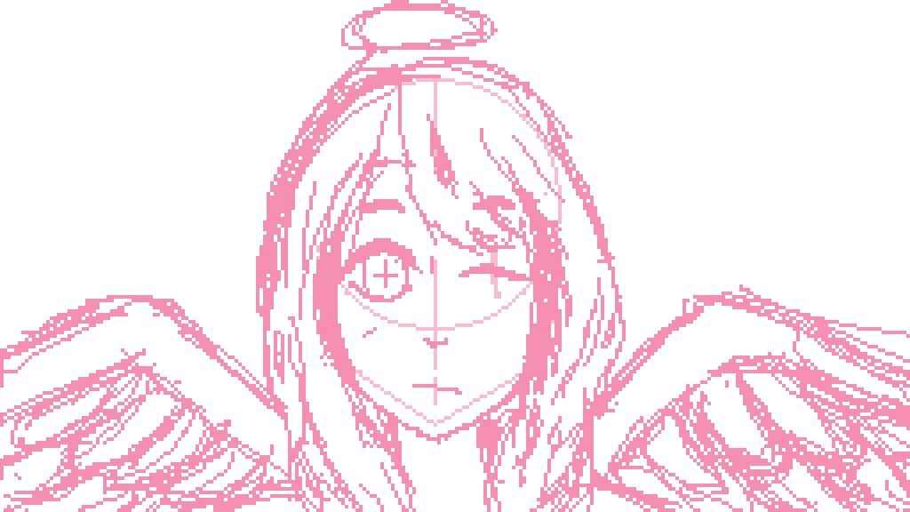 angel sketch by huihuimanity