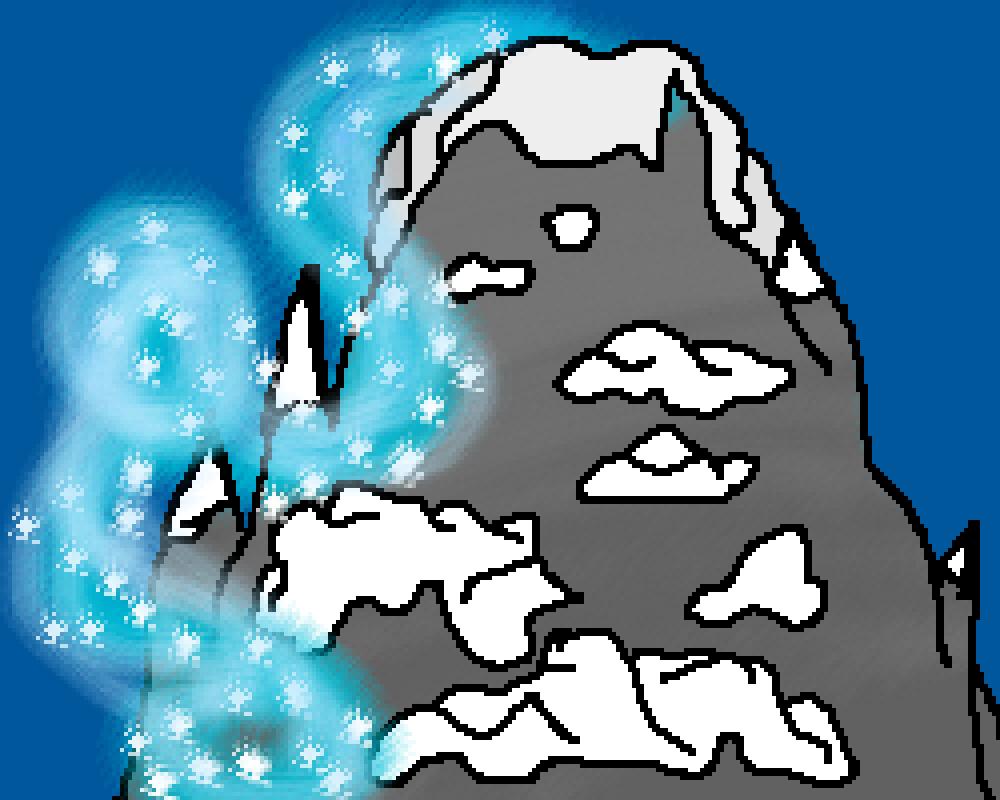 The snow mountains of Anamalia  by Disney