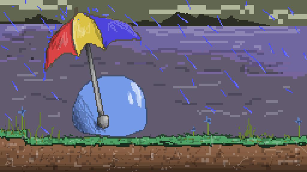 how to make it rain in terraria