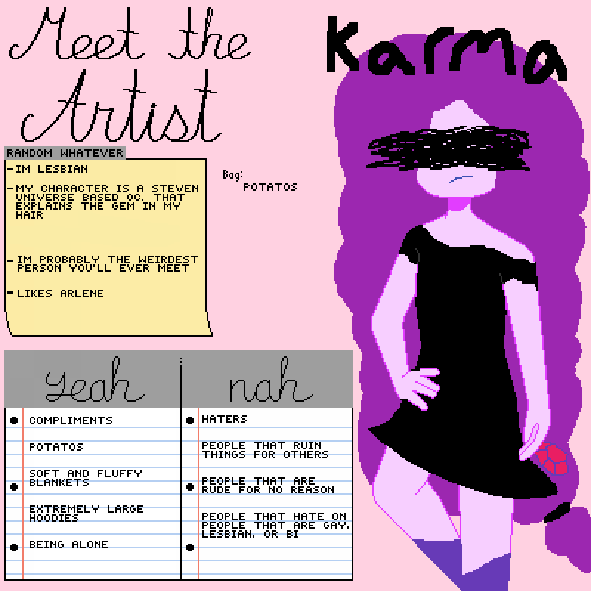 main-image-Welcome to meh Profile  by PurpleKarma