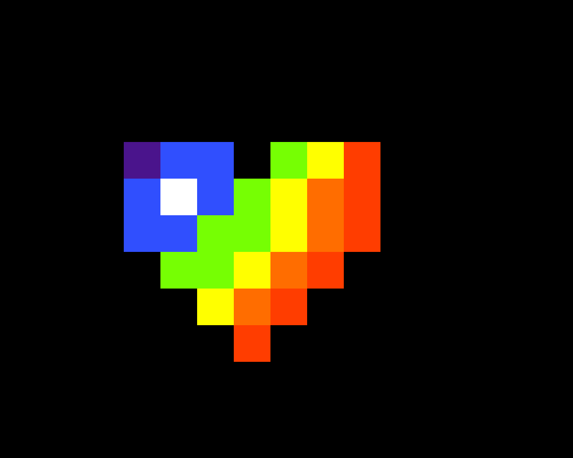 main-image-the pixelart logo rainbow version  by TNIM