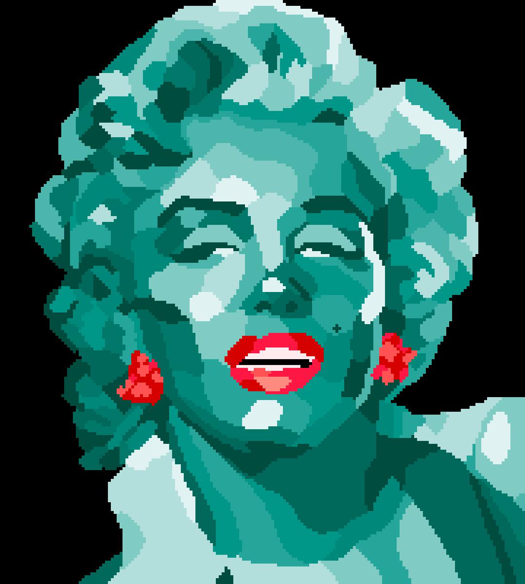Marilyn Monroe by Thoo