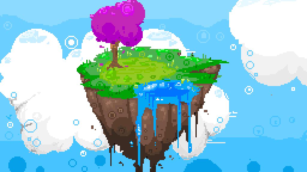 main-image-floating island doodle  by milkingtheshake