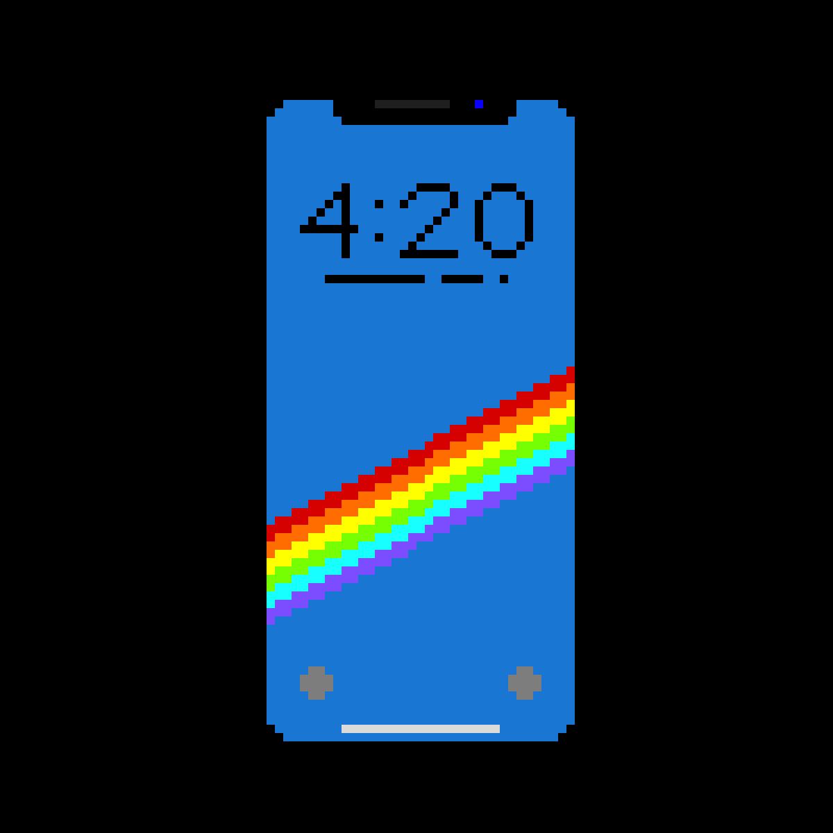 iPhone X by AmericanPsycho