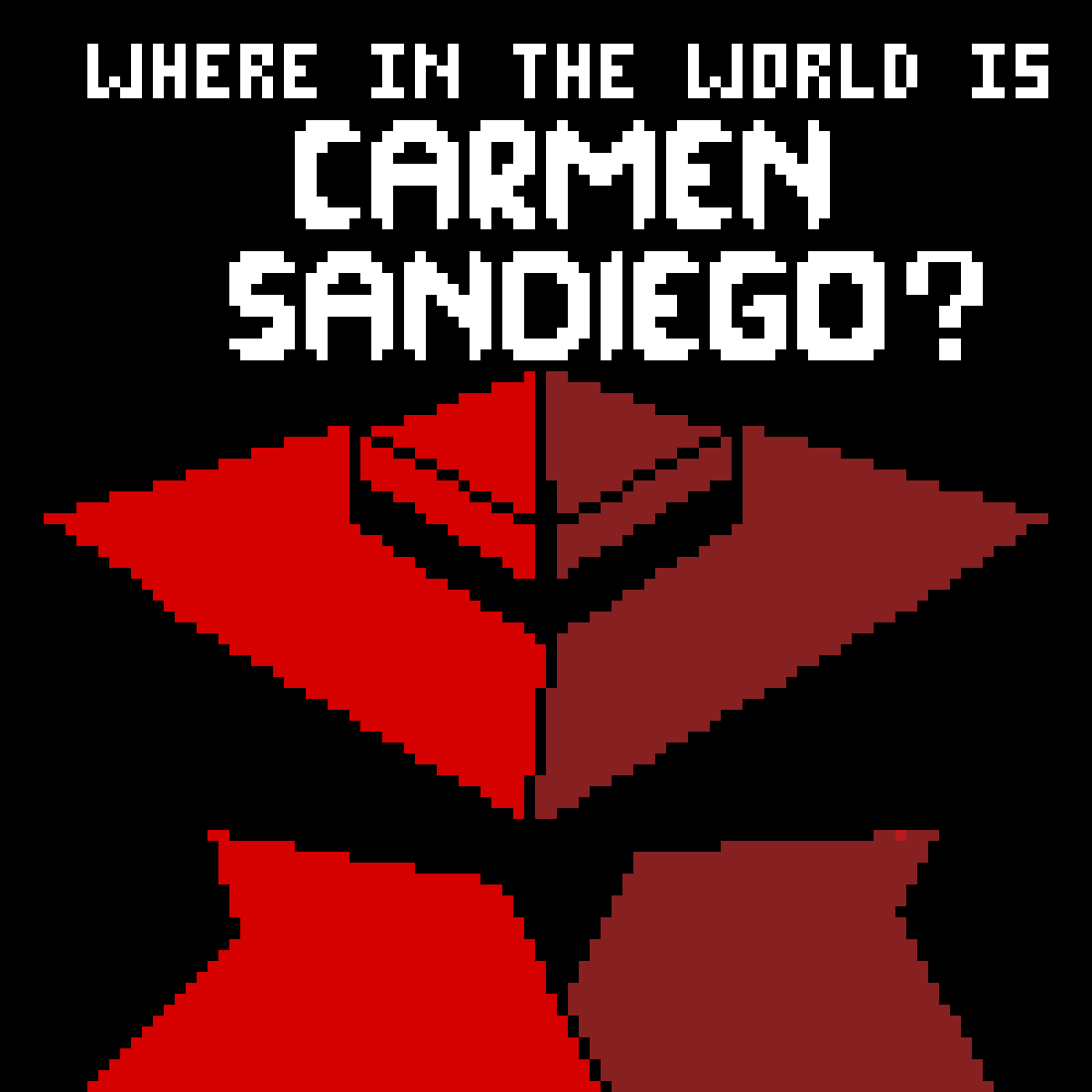 Carmen Sandiego by DragonHunter11