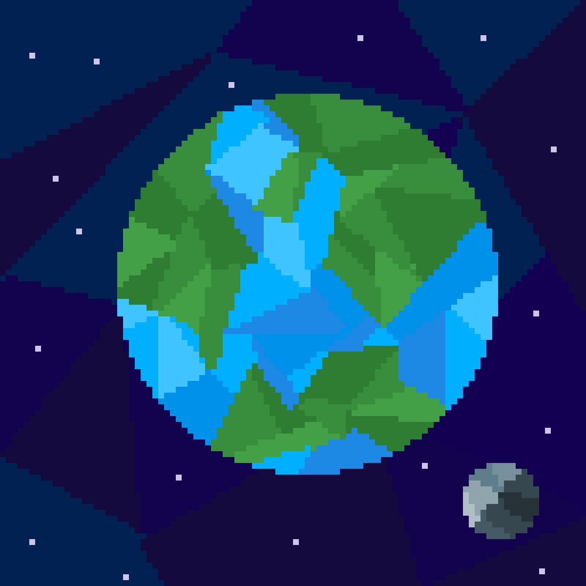 Polygon Planet by Cynical-Pixel