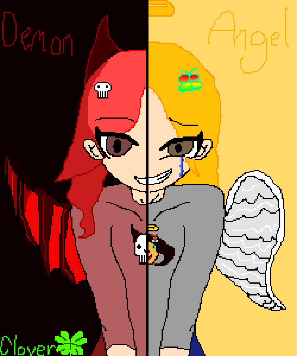 main-image-Demon Half Angel  by PusheenGirl