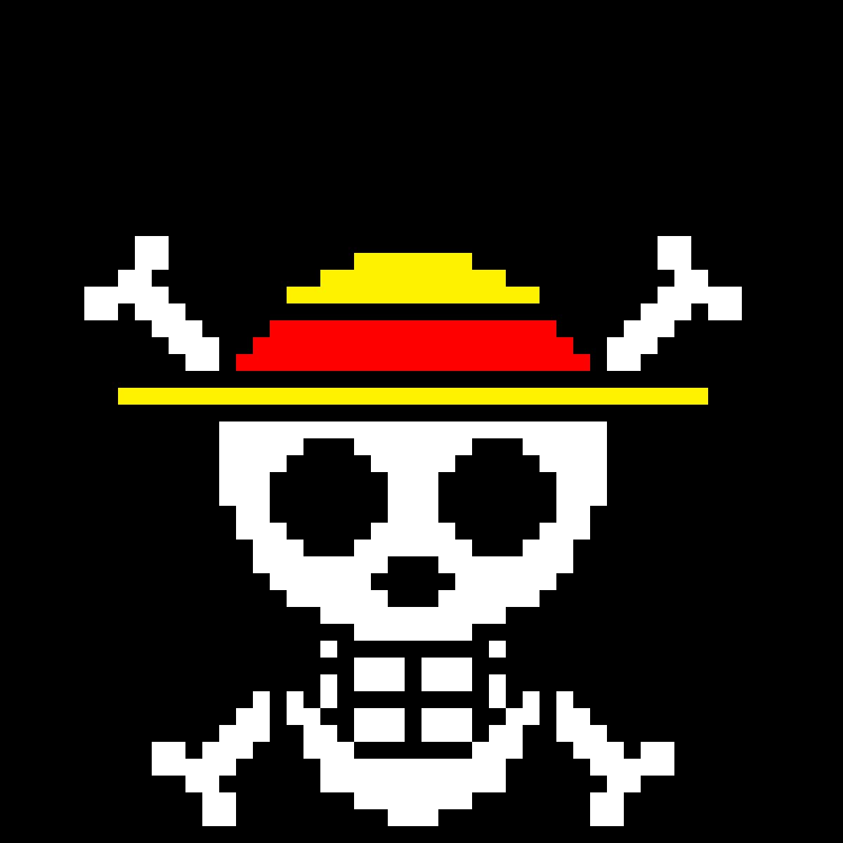 Pixilart One Piece Symbol By Beaniezanime 39