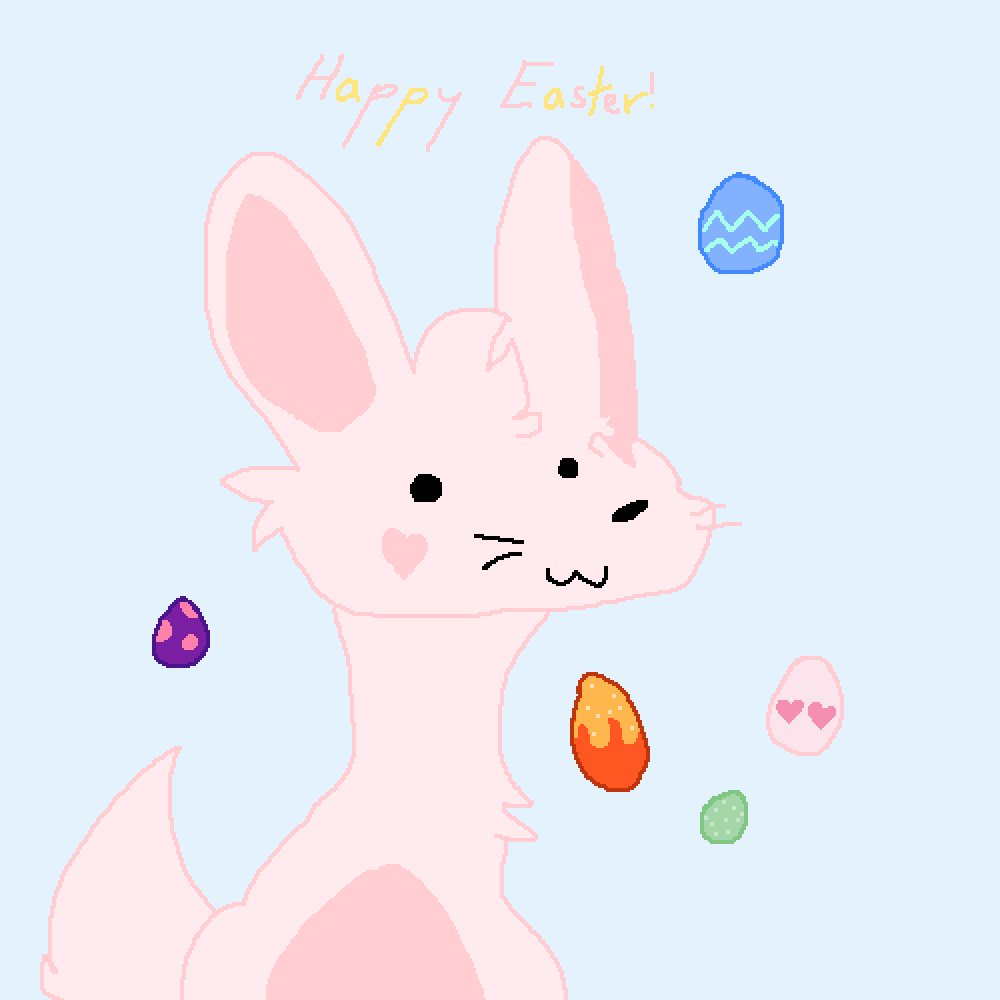 Happy Easter everyone! by Audiecat