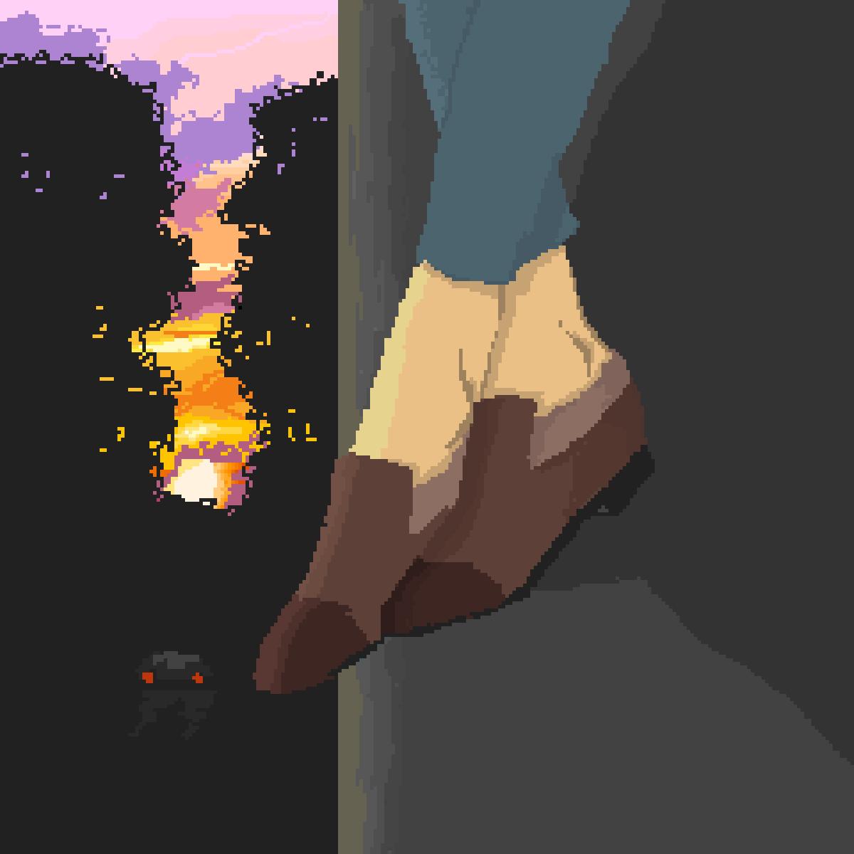 main-image-ayaklarını sarkıtan biri var  by Trigelf