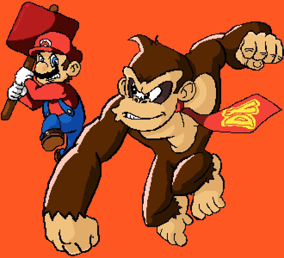 Mario VS Donkey Kong by Master-Ducky