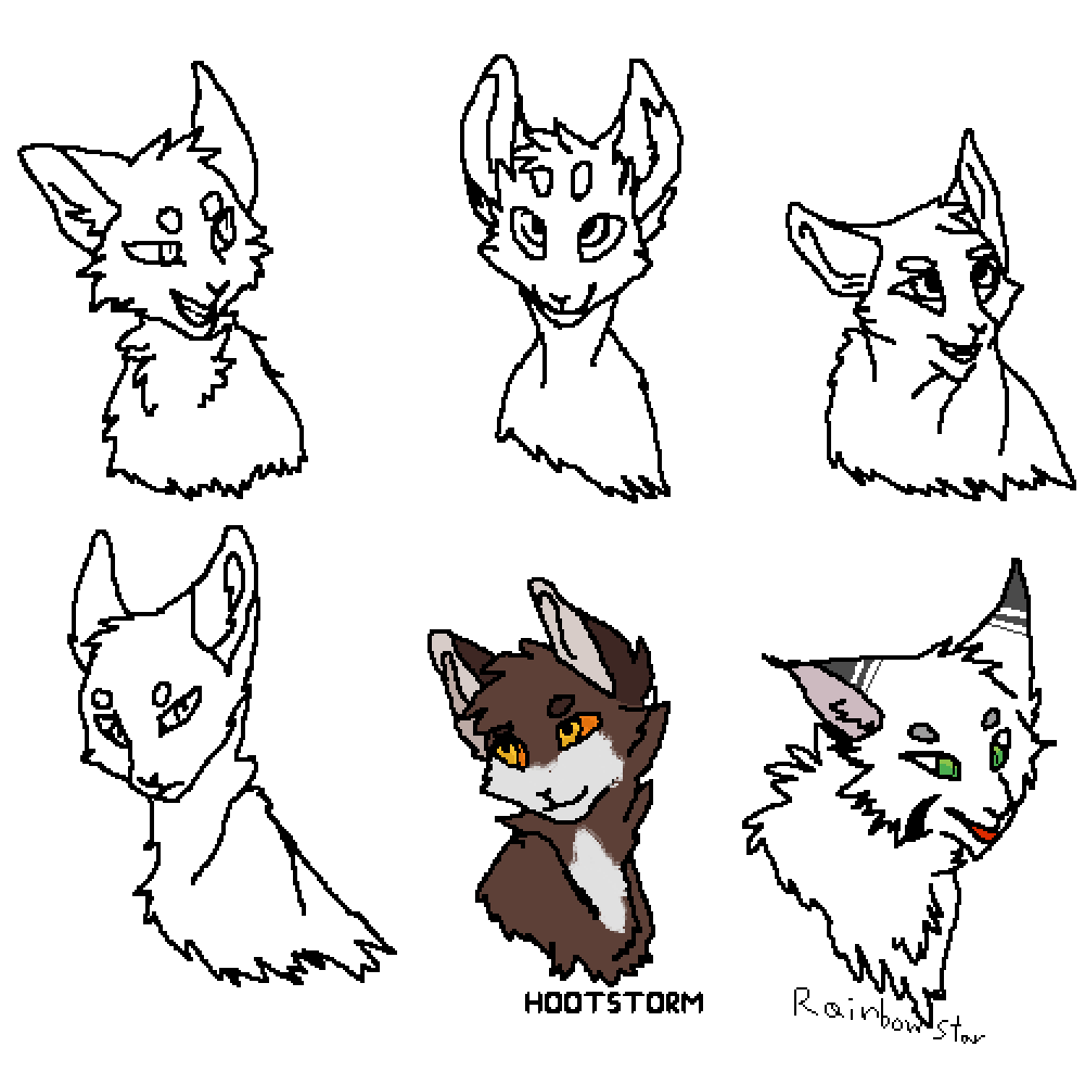 Warriorcats collab by Sketch-kitty