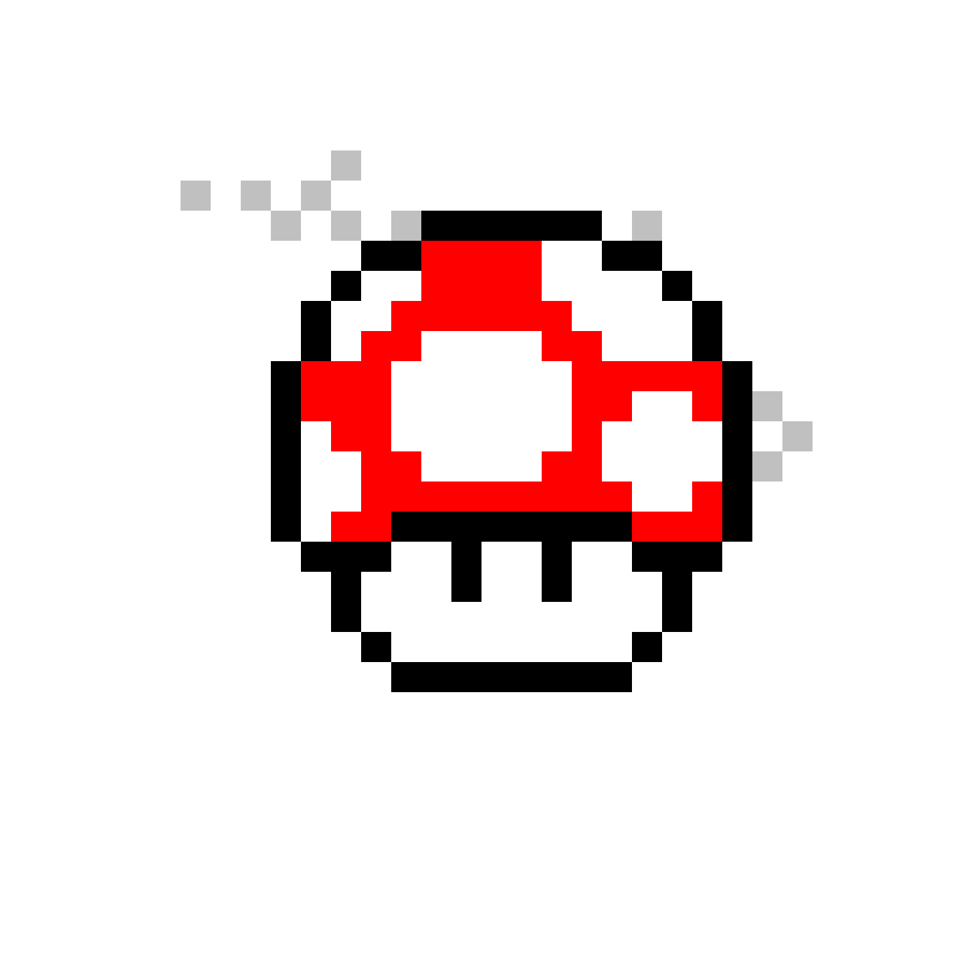 Pixilart Super Mario World Mushroom Power By Anonymous