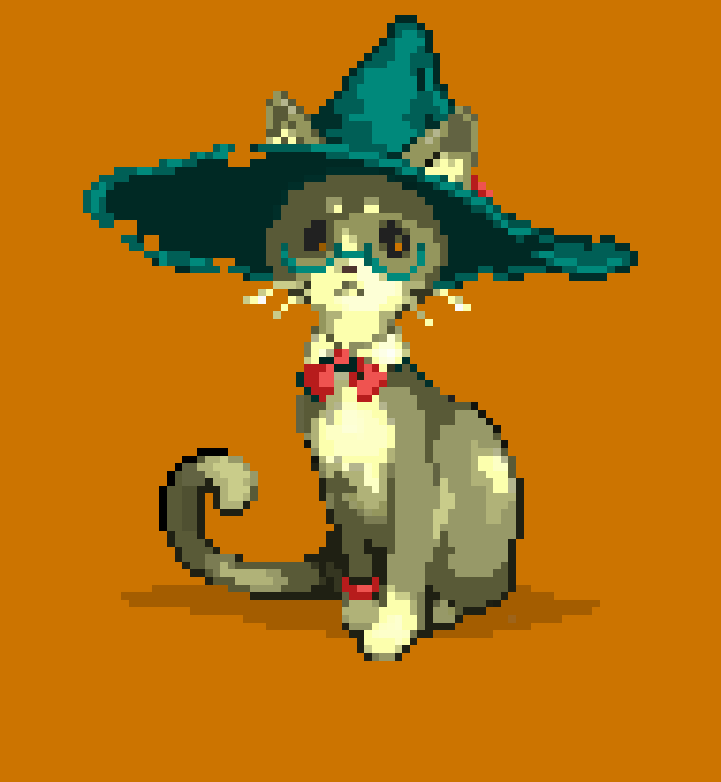 Cat Witch lvl. 9999 by Croger60