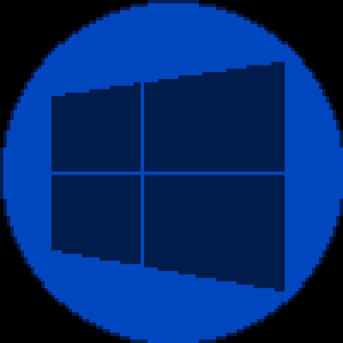 8-bit Windows Start Button by Derickalex