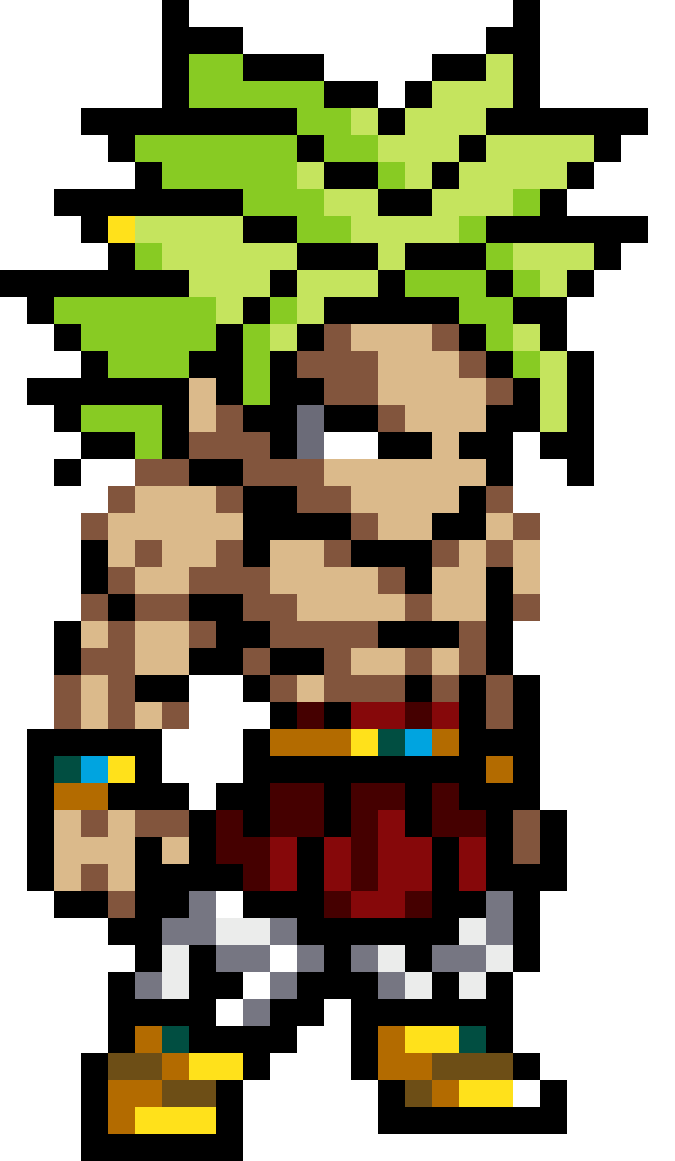 Broly  by AsZnEe