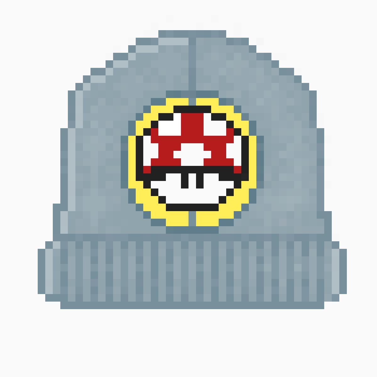 Pasamontañas Mario Bros. Mushroom by odespino