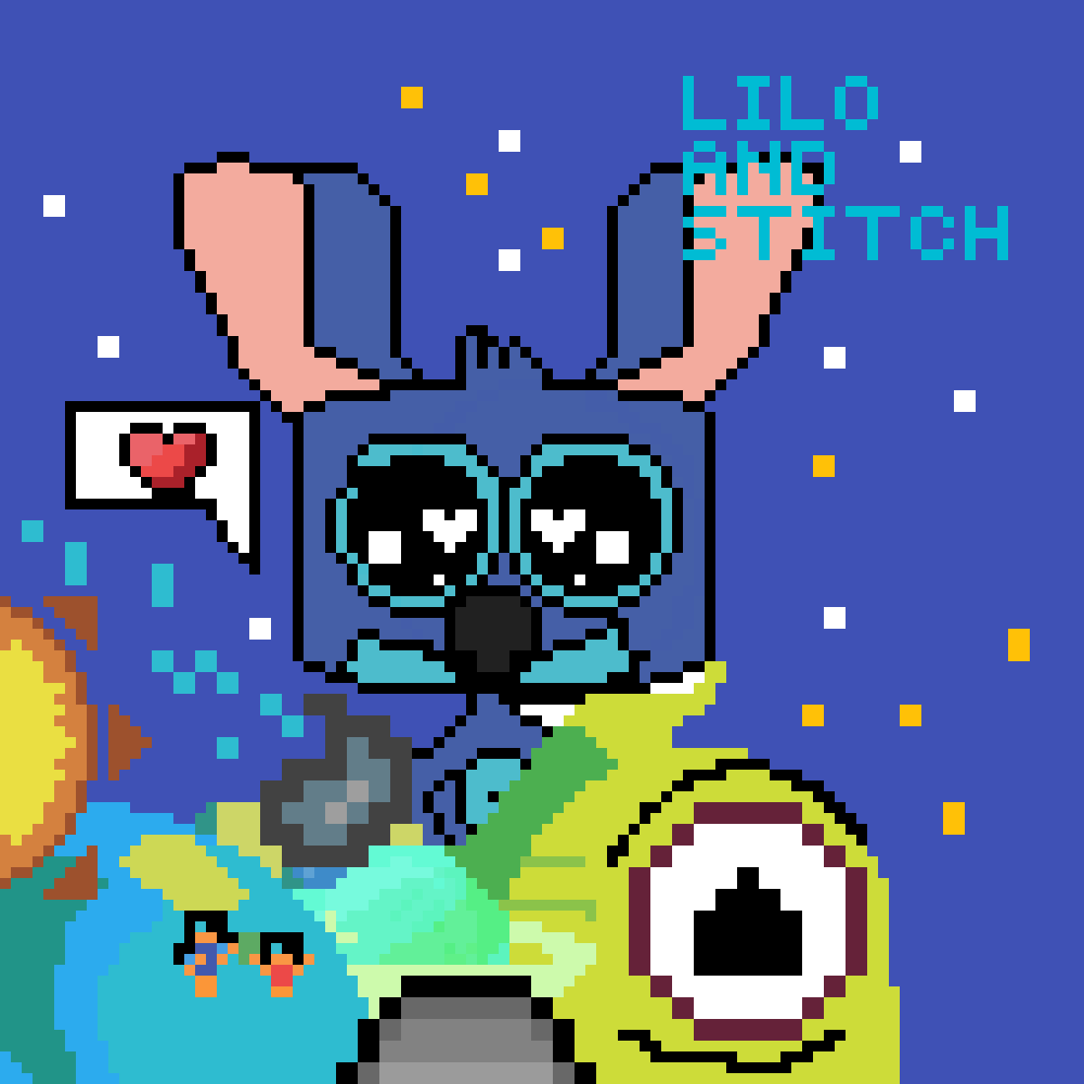 Lilo & stitch! by PLZU840