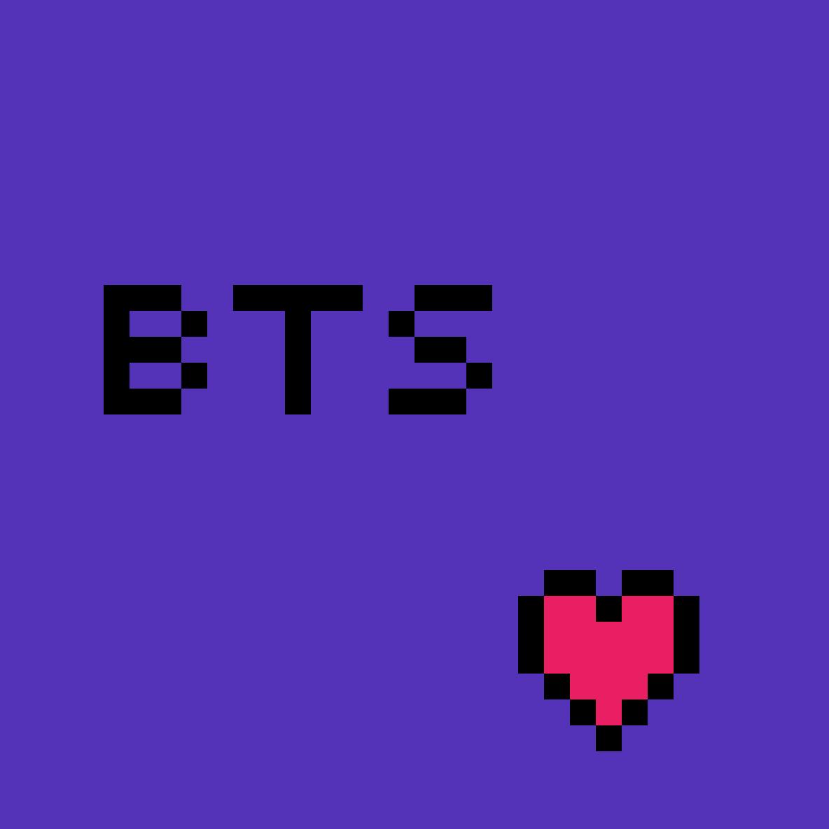 I love BTS by adrianasedano