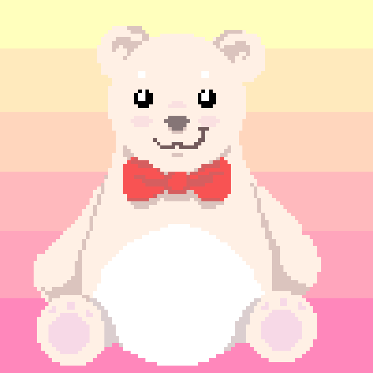 Hay Hay Chicken Stuffed Animal, Pixilart Big Fluffy Teddy Bear By Nellecfox