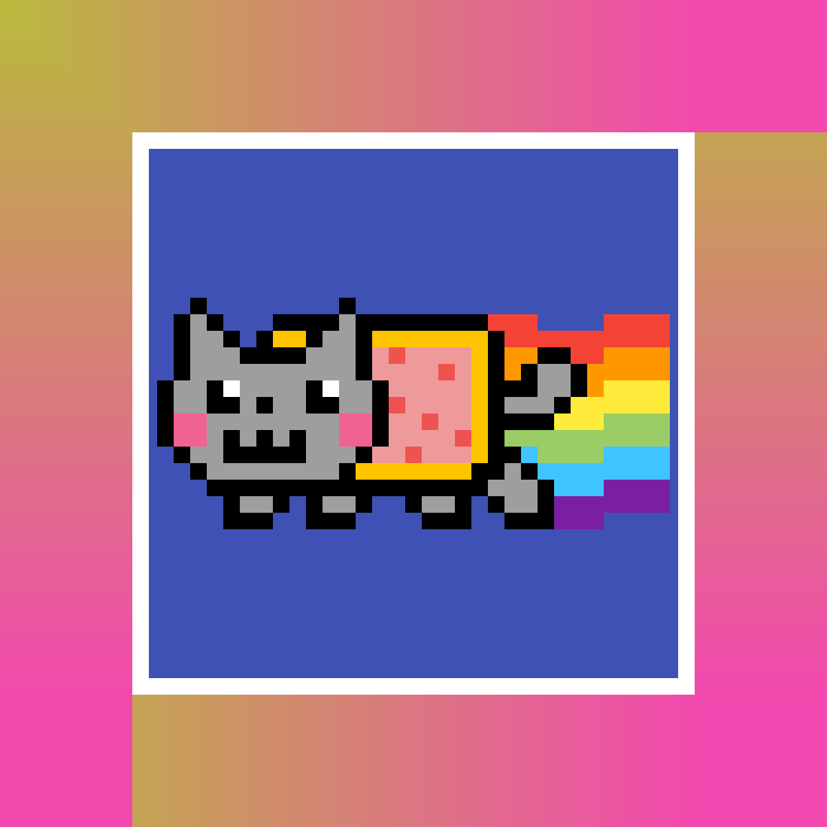 ~ Nyan Cat ~ by Nathicha-Miki15