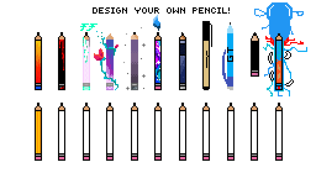 pixilart create your own pencil by spoopboi