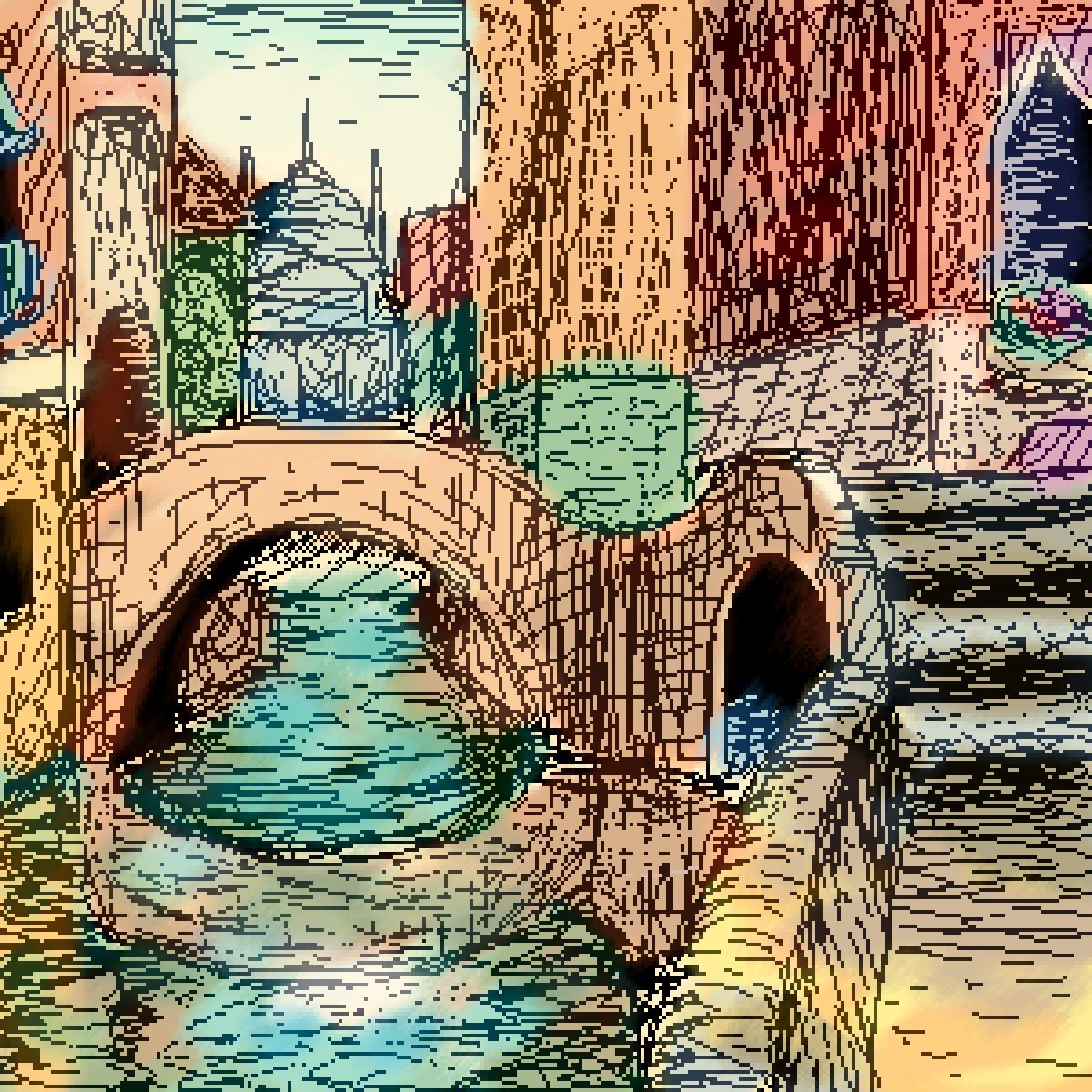 Passing Through Venice