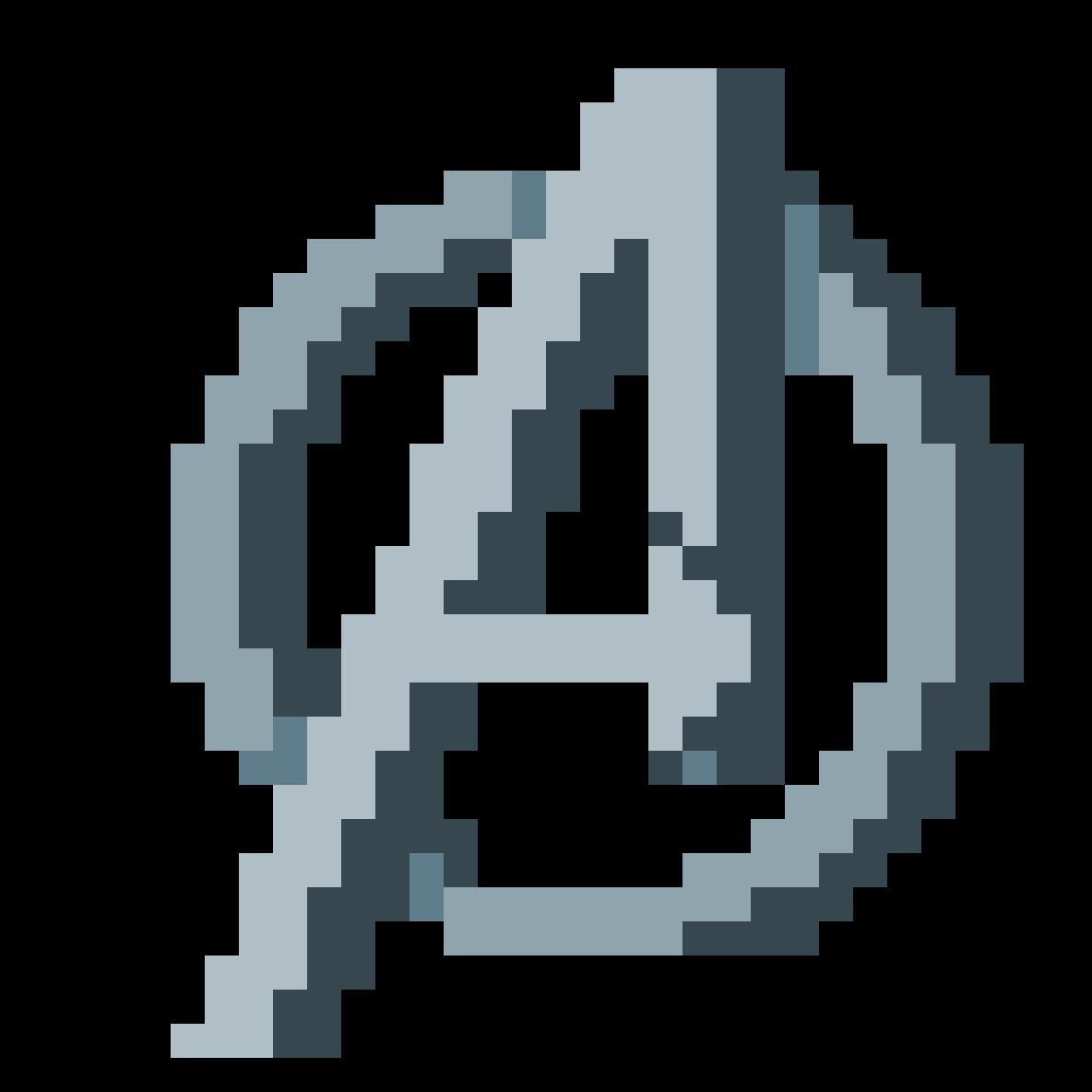 Avengers logo by randompixelhb