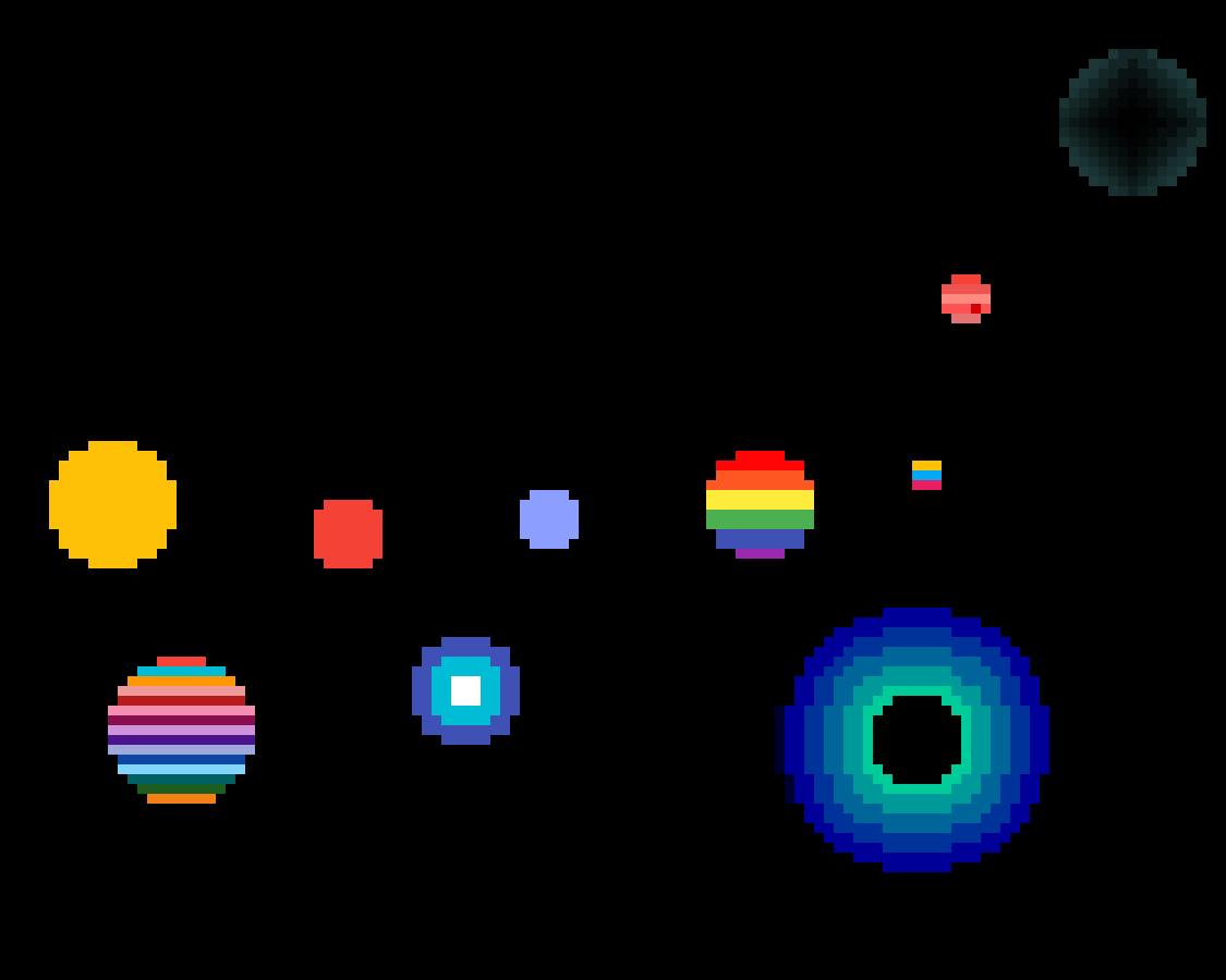 Multicolor planet  by MusicalTrash