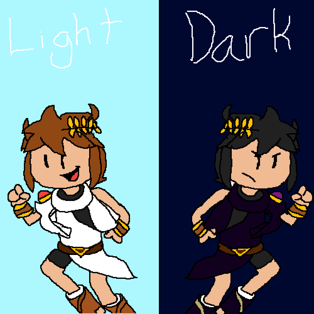 Light or Dark? (request #3) @FloofySonic by RebelBiscuit546