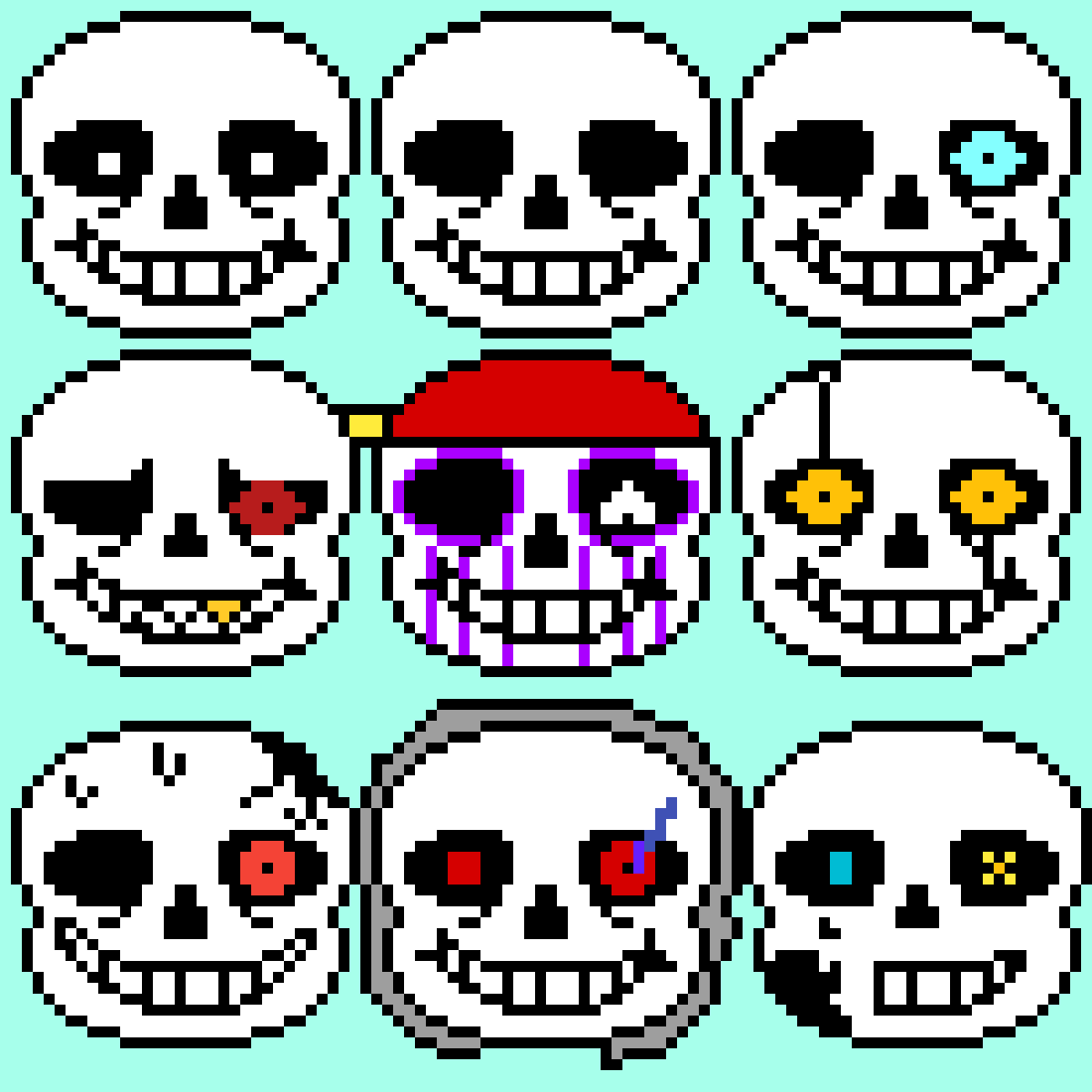 Many sans's by Westmoreland